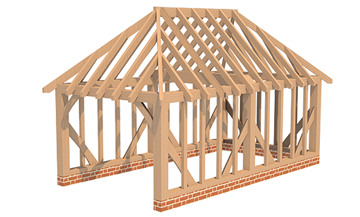 Single Garage Hipped Roof